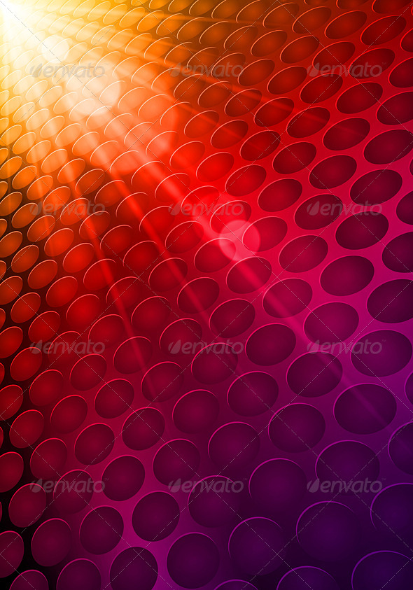 Shiny Hot Background - Backgrounds Decorative