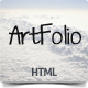 Artfolio - portfolio solution for creatives - ThemeForest Item for Sale