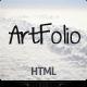 Artfolio - portfolio solution for creatives - ThemeForest Item for Sale