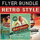 Retro Style Flyer Bundle 2 - GraphicRiver Item for Sale