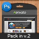 Pack In Mockup V2 - GraphicRiver Item for Sale