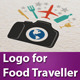 Logo 4 Food Traveller - GraphicRiver Item for Sale