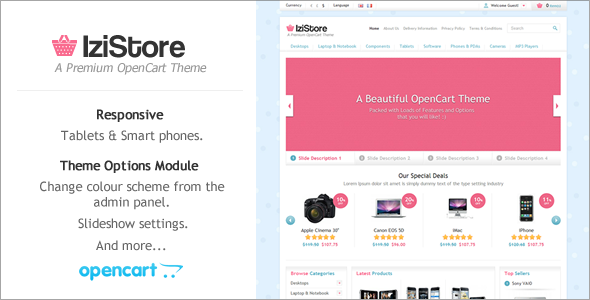 IziStore - Responsive OpenCart Theme - Miscellaneous OpenCart