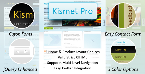 Kismet Pro - HTML - Business Corporate