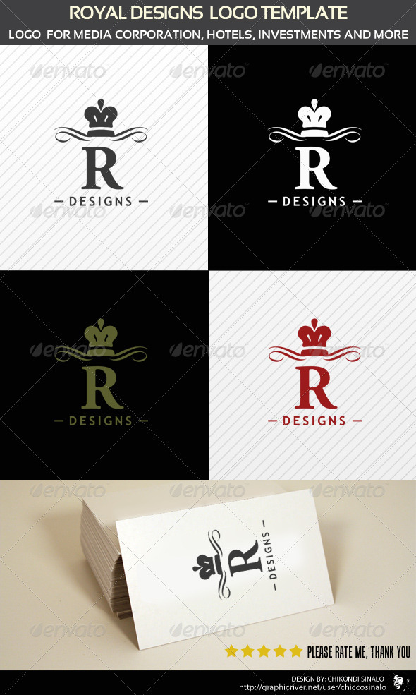 Royal Designs Logo Template - Abstract Logo Templates