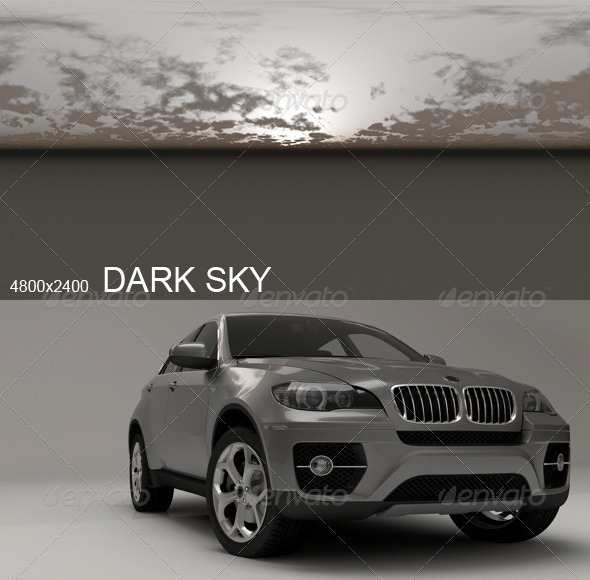 3DOcean Hdri Dark Sky 2396662