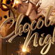 Chocolate Nights Party Flyer Template - GraphicRiver Item for Sale