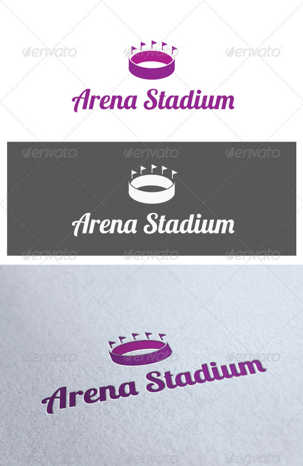GraphicRiver Logo Arena Stadium 2396951