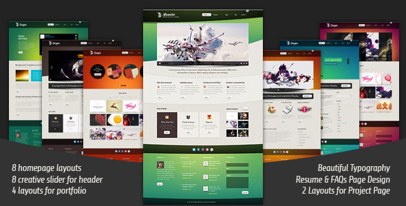 Advantico - Responsive Site Template - Site Templates