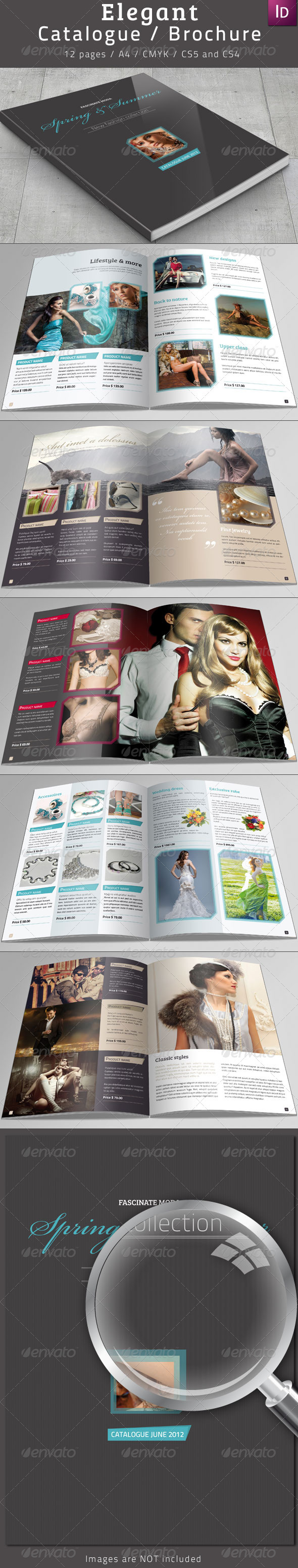 GraphicRiver Elegant Catalogue Brochure 2397328
