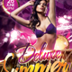 Deluxe Summer Party Flyer - GraphicRiver Item for Sale