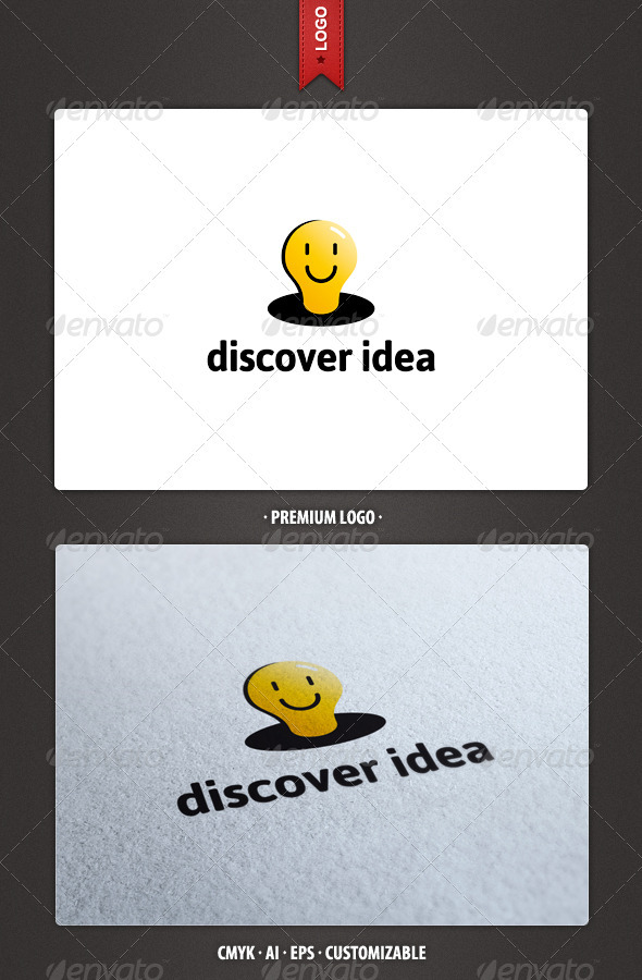 Diver Idea Logo Template - Objects Logo Templates