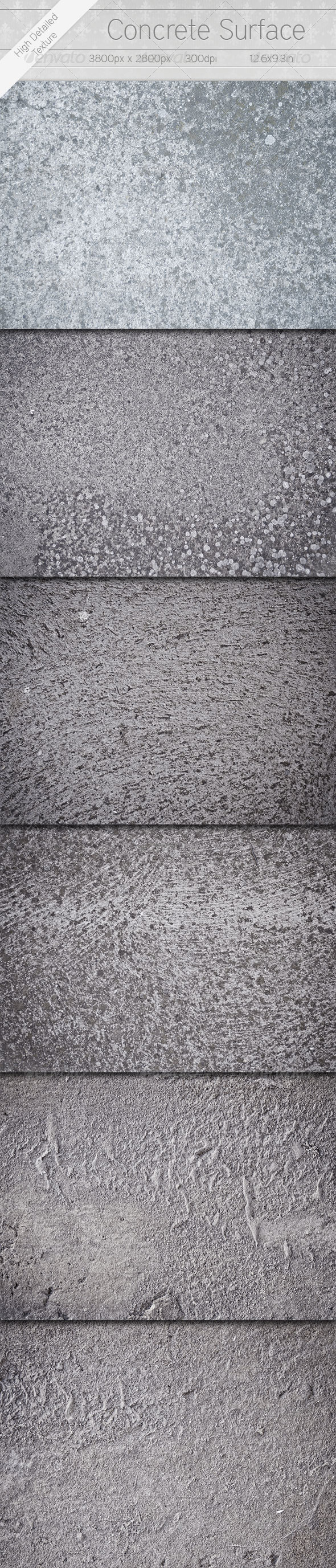 Concrete Surfaces - Photoshop Add-ons