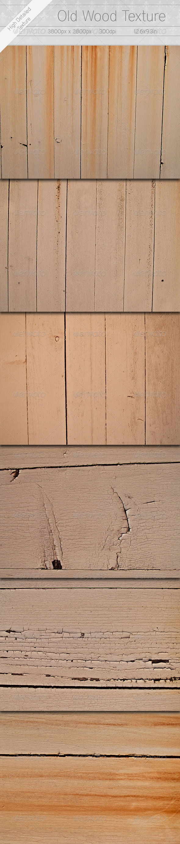 Old Wood Textures - Miscellaneous Textures / Fills / Patterns