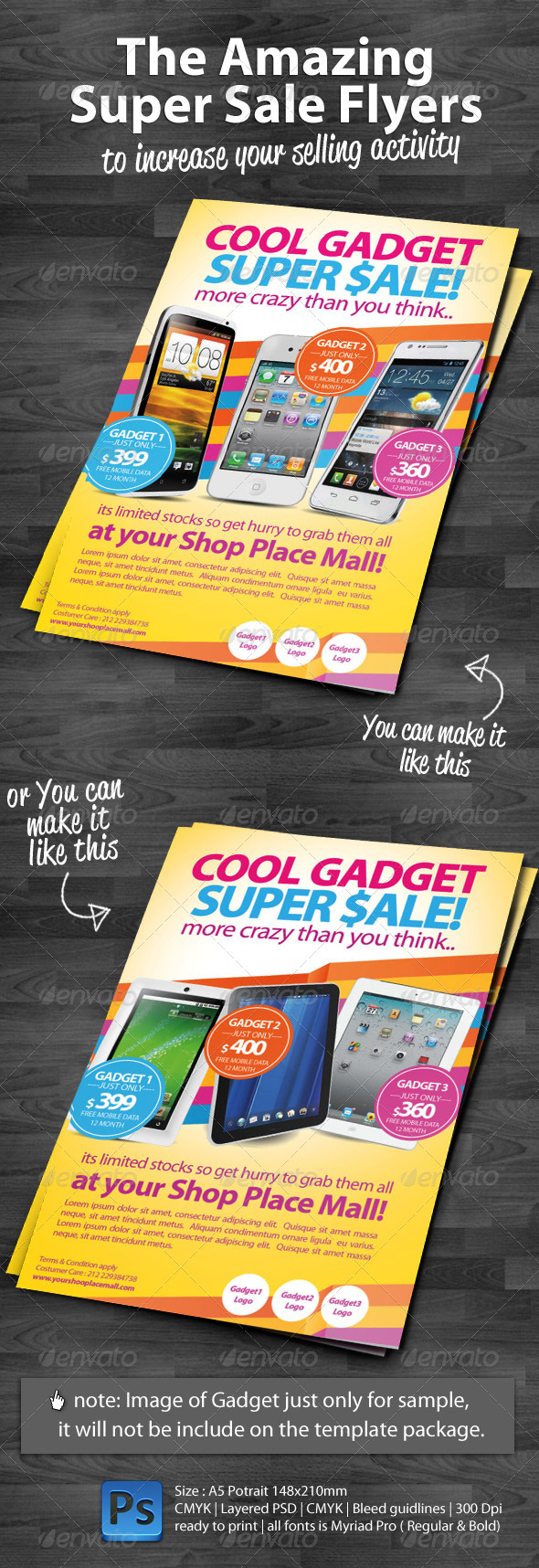 GraphicRiver Super Sale Flyers 2310693