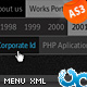 Horizontal Resizable Ultra Menu AS3 - ActiveDen Item for Sale