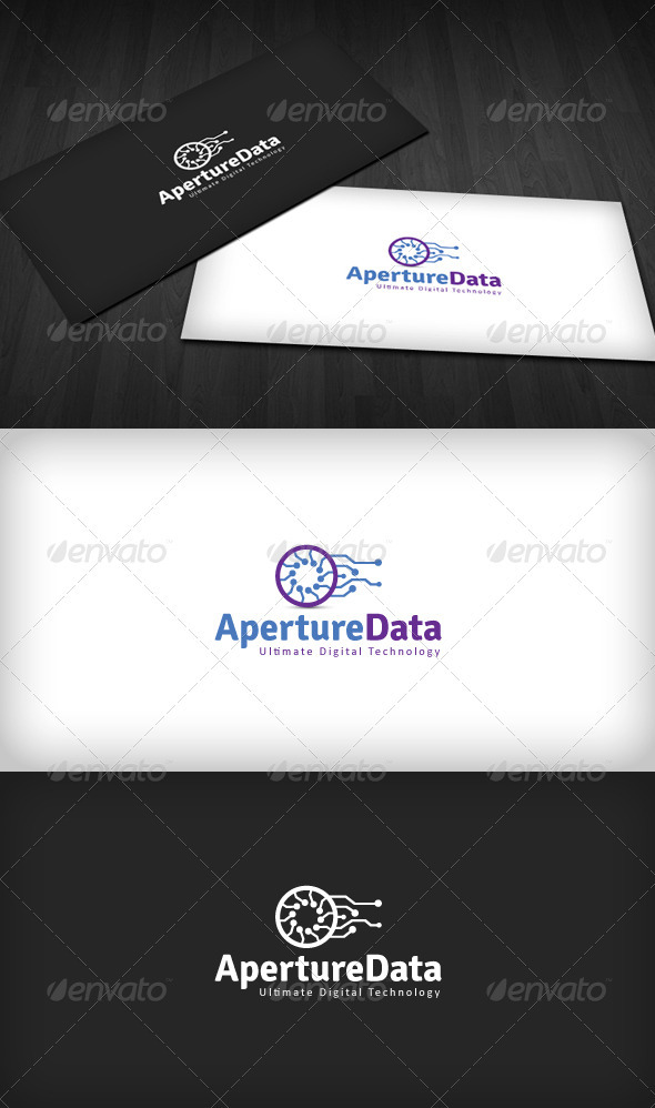 GraphicRiver Aperture Data Logo 2395694
