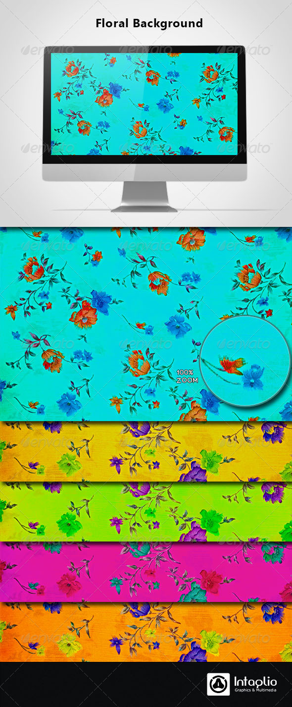 Floral Background 10 - Backgrounds Graphics