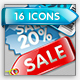 WEB 2.0 SALE COMPONENTS - GraphicRiver Item for Sale