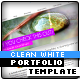 XML Clean White Portfolio Template - ActiveDen Item for Sale