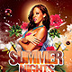 Red Summer Nights - GraphicRiver Item for Sale