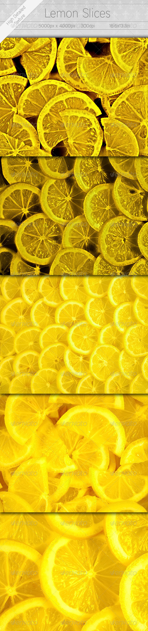 Lemon Slices - Miscellaneous Textures / Fills / Patterns