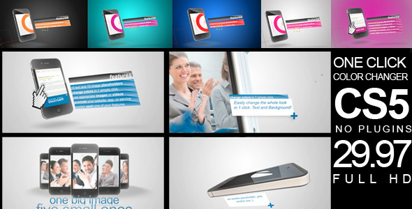 VideoHive Phone personal promotion 2411601