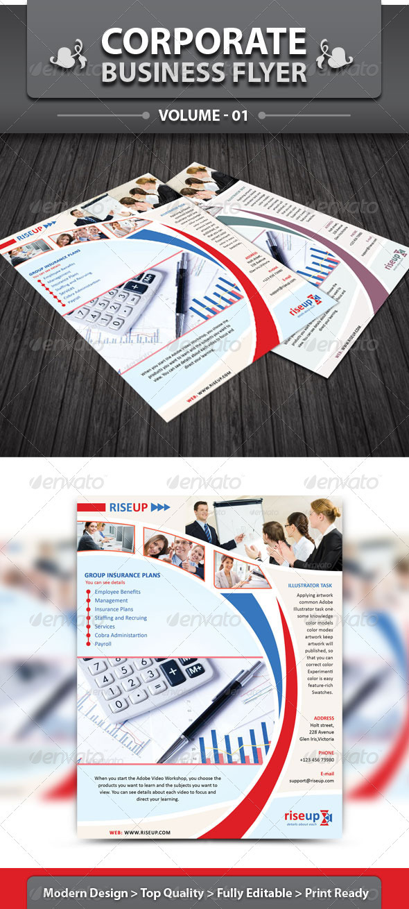 Corporate Business Flyer v1 - Corporate Flyers