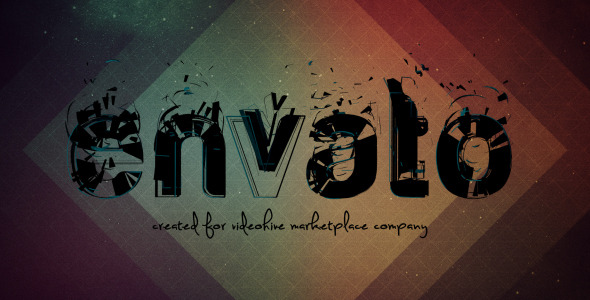 After Effects Project - VideoHive The Particles Font 2 in 1 2413516