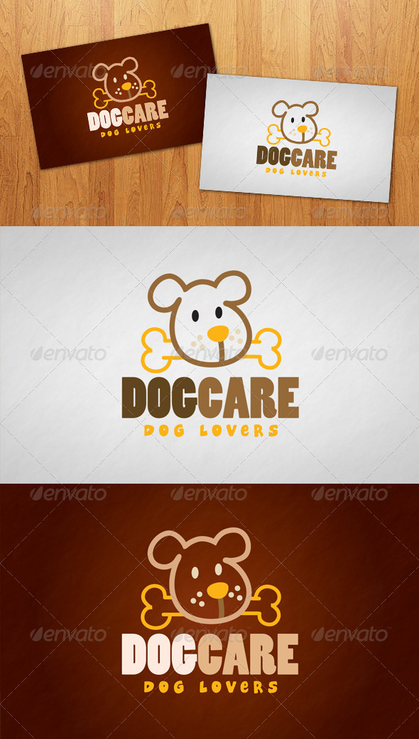 Dog Care Logo - Animals Logo Templates
