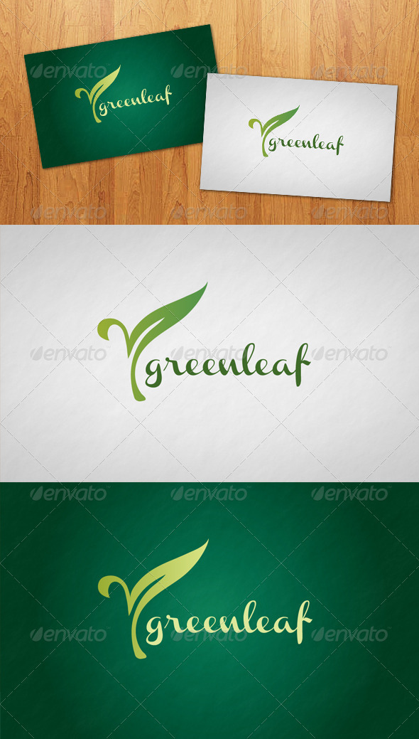Green Leaf Logo - Nature Logo Templates