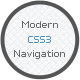 Modern CSS3 Navigation - CodeCanyon Item for Sale