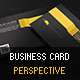 Business Card Perspective - GraphicRiver Item for Sale
