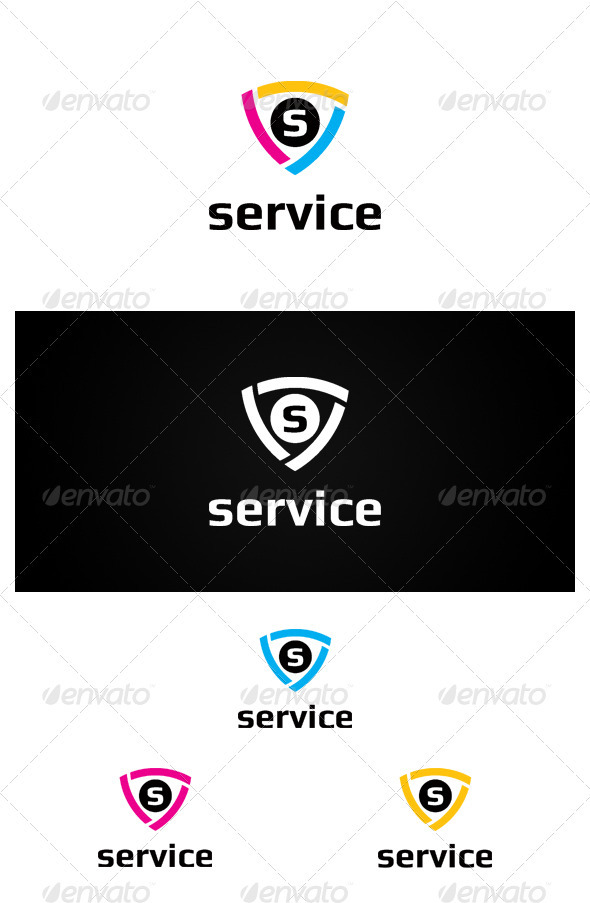 Service - Crests Logo Templates