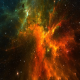 Flight Through The Stars In Space - VideoHive Item for Sale