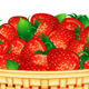 Vector Strawberry Basket - GraphicRiver Item for Sale