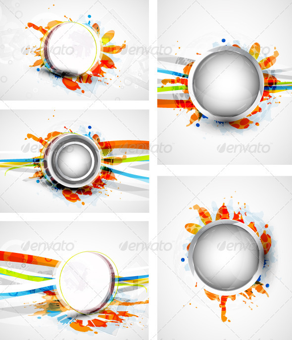 Abstract Vector Backgrounds - Backgrounds Decorative