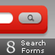 Collection of Search Forms - GraphicRiver Item for Sale