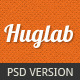 Huglab: Business Portfolio PSD Template  - ThemeForest Item for Sale