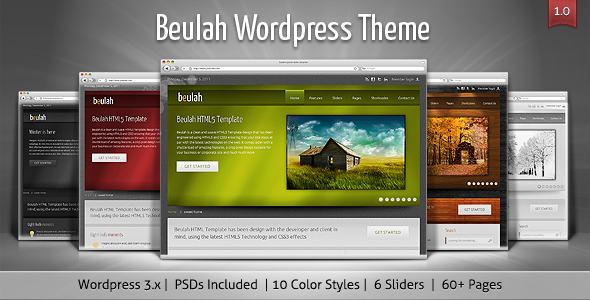 ThemeForest Beulah Corporate & Business WordPress Theme 2415643