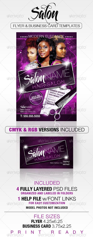 Hair Salon Flyer Free Templates