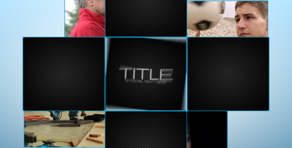 After Effects Project - VideoHive Video Blocks Presentation 2417795