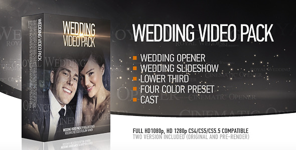 VideoHive Wedding Pack 2418234