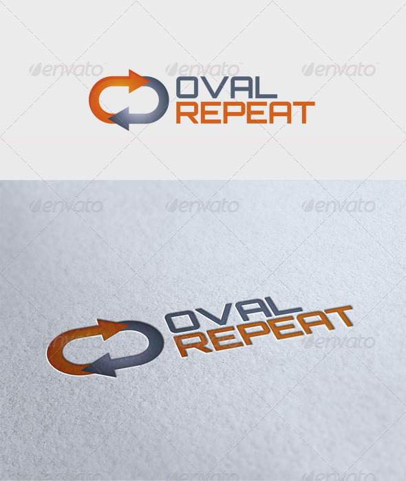 Oval Repeat Logo - Symbols Logo Templates