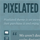 Pixelated theme (tumblr)