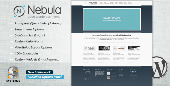 Nebula - Premium Wordpress Theme