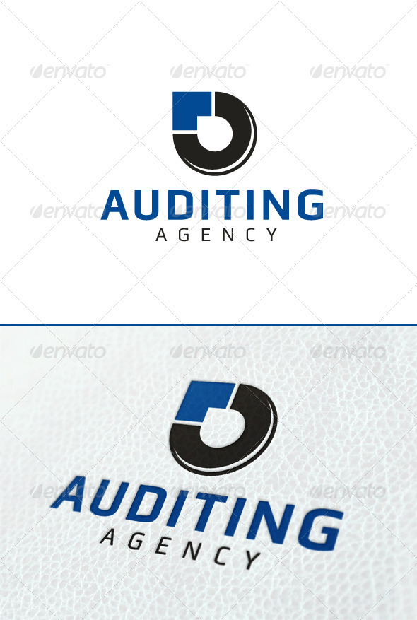 Audit Agency - Vector Abstract