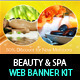 Beauty & Spa Web Banner & Ad Kit - PSD Templates - GraphicRiver Item for Sale