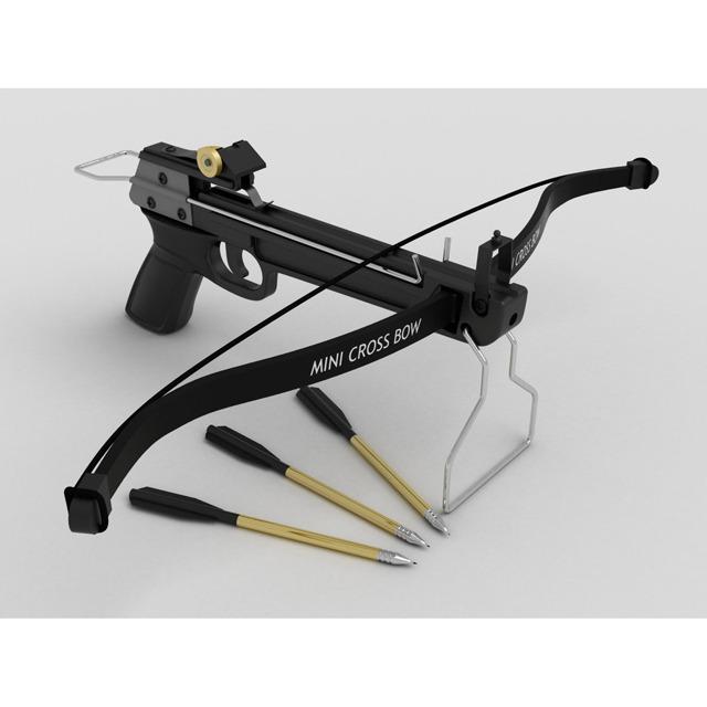 3DOcean Hand Crossbow 2422448