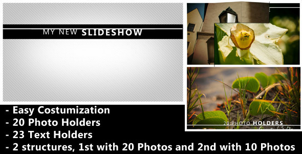 After Effects Project - VideoHive Flipping Square Revealer Photo And Video Slideshow 2400871